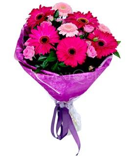 Bingöl Gölüm Çiçek çiçek siparişi sitesi  karışık gerbera çiçeği buketi