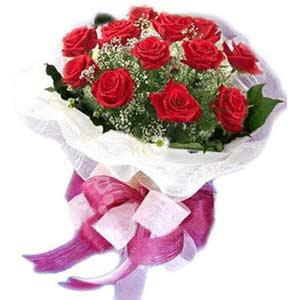 Bingöl Gölüm Çiçek çiçek satışı  11 adet kırmızı güllerden buket modeli