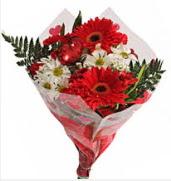 Mevsim çiçeklerinden görsel buket  Bingöl Gölüm Çiçek çiçekçiler