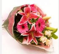 1 dal kazablanka ve mevsim çiçekleri  Bingöl Gölüm Çiçek internetten çiçek siparişi
