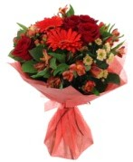 karışık mevsim buketi  Bingöl Gölüm Çiçek internetten çiçek siparişi