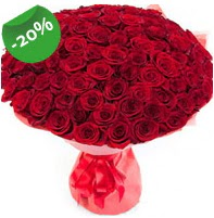 Özel mi Özel buket 101 adet kırmızı gül  Bingöl Gölüm Çiçek anneler günü çiçek yolla