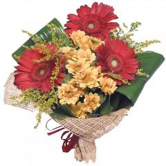 karışık mevsim buketi  Bingöl Gölüm Çiçek çiçekçi mağazası
