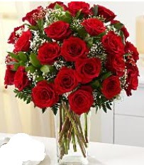 Vazo içerisinde 33 adet kırmızı gül  Bingöl Gölüm Çiçek cicek , cicekci