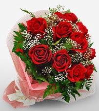 12 adet kırmızı güllerden kaliteli gül  Bingöl Gölüm Çiçek çiçek siparişi vermek