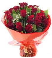 12 adet görsel bir buket tanzimi  Bingöl Gölüm Çiçek çiçek siparişi vermek
