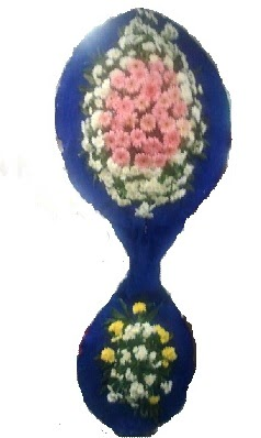 Çift katlı düğün çiçeği görsel nikah çiçeği