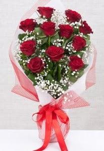11 kırmızı gülden buket çiçeği  Bingöl Gölüm Çiçek 14 şubat sevgililer günü çiçek