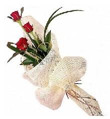 3 adet kırmızı gül buketi  Bingöl Gölüm Çiçek güvenli kaliteli hızlı çiçek