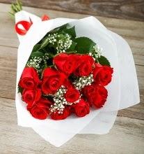 9 kırmızı gülden buket çiçeği  Bingöl Gölüm Çiçek çiçek gönderme