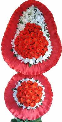 Bingöl Gölüm Çiçek online çiçek gönderme sipariş  Çift katlı kaliteli düğün açılış sepeti