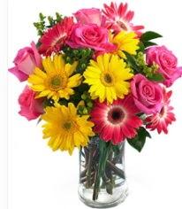 Vazoda Karışık mevsim çiçeği  Bingöl Gölüm Çiçek çiçekçi mağazası
