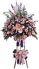 Bingöl Gölüm Çiçek güvenli kaliteli hızlı çiçek   Ferforje Pembe kazablanka