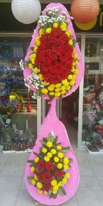 Çift katlı düğün nikah açılış çiçek modeli  Bingöl Gölüm Çiçek çiçekçiler