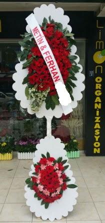 Çift katlı düğün nikah çiçeği modeli  Bingöl Gölüm Çiçek çiçek siparişi sitesi