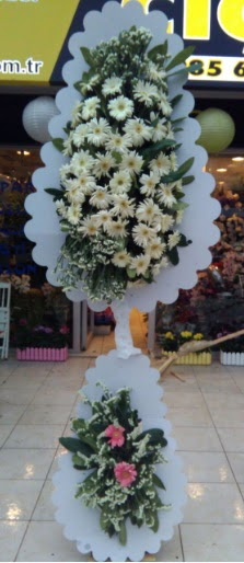 Çift katlı düğün nikah açılış çiçeği  Bingöl Gölüm Çiçek çiçekçi telefonları
