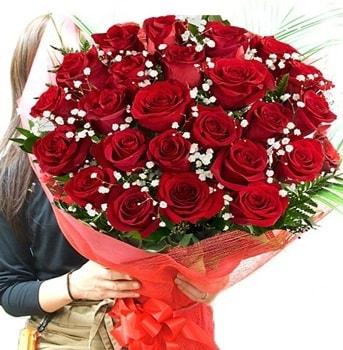 Kız isteme çiçeği buketi 33 adet kırmızı gül  Bingöl Gölüm Çiçek çiçek gönderme sitemiz güvenlidir
