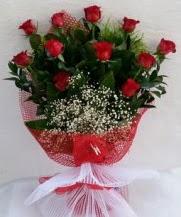11 adet kırmızı gülden görsel çiçek  Bingöl Gölüm Çiçek çiçek satışı