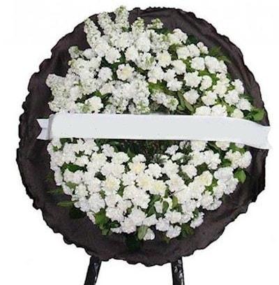Cenaze çelengi çiçeği modelleri  Bingöl Gölüm Çiçek internetten çiçek satışı
