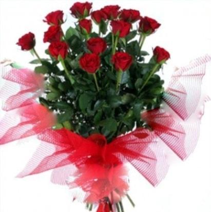 15 adet kırmızı gül buketi  Bingöl Gölüm Çiçek cicek , cicekci