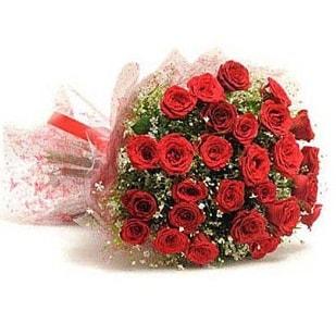 27 Adet kırmızı gül buketi  Bingöl Gölüm Çiçek ucuz çiçek gönder
