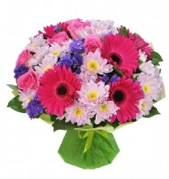 Karışık mevsim buketi mevsimsel buket  Bingöl Gölüm Çiçek çiçek satışı