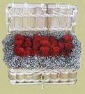 Bingöl Gölüm Çiçek cicekciler , cicek siparisi  Sandikta 11 adet güller - sevdiklerinize en ideal seçim